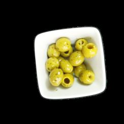 olives lemon and coriender